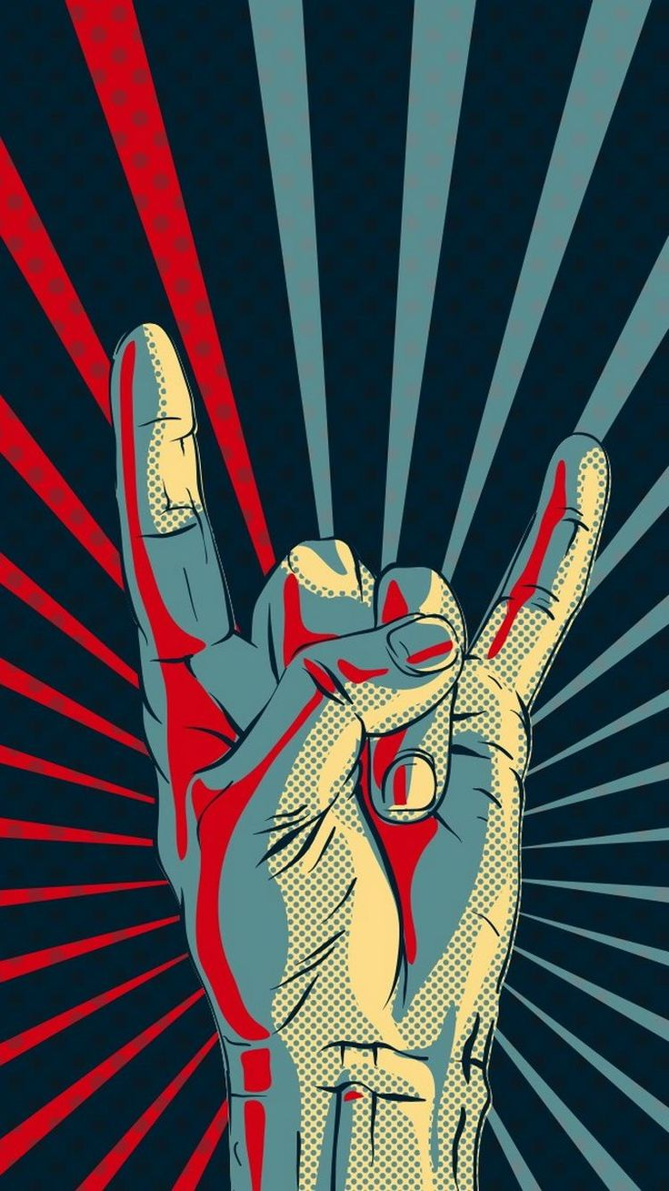 Rock-Hand-Gesture-Sign-iPhone-6-Wallpaper