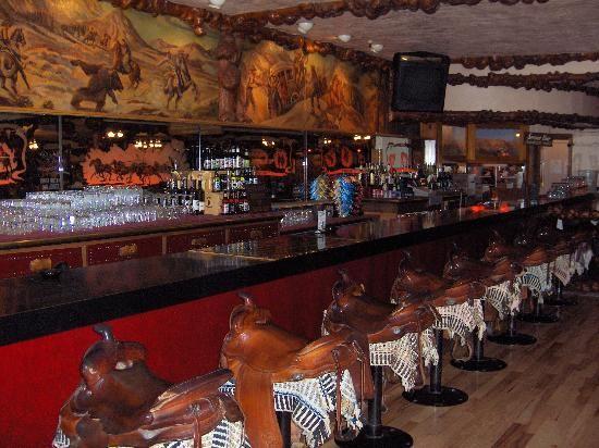 Jackson Hole Wyoming Inside Of Million Dollar Cowboy