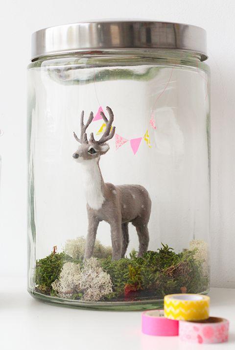Elske: deer in a jar DIY