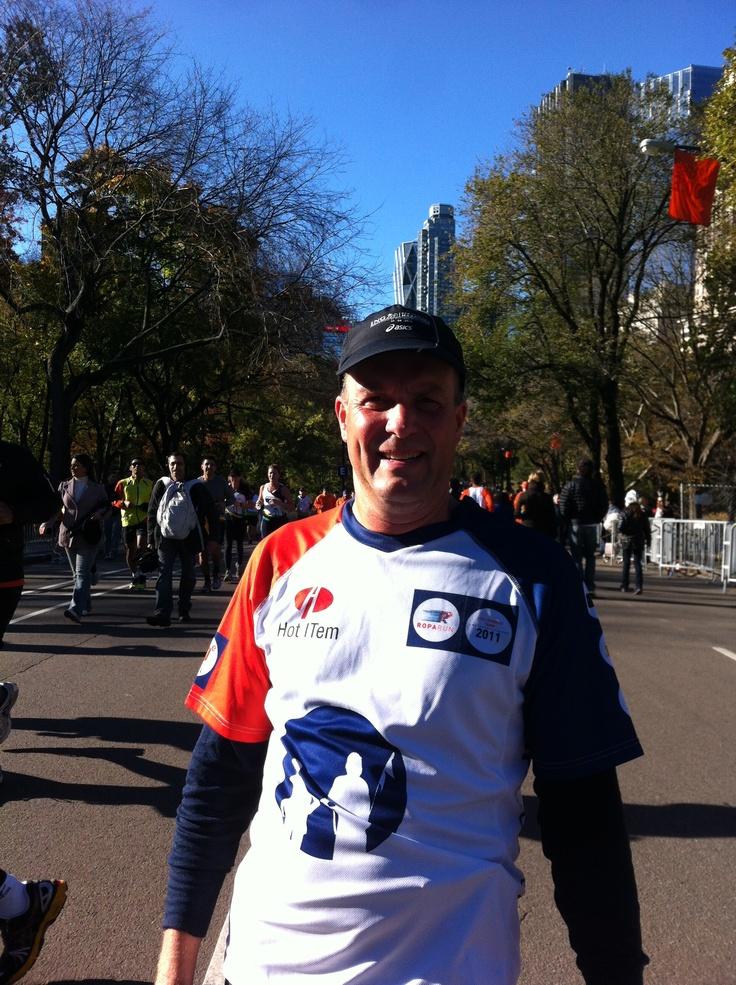 Jan Hendrik de Groot uit team 88 in New York
