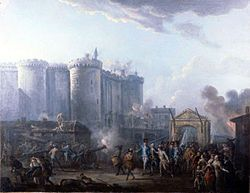 French Revolution storming of the Bastille