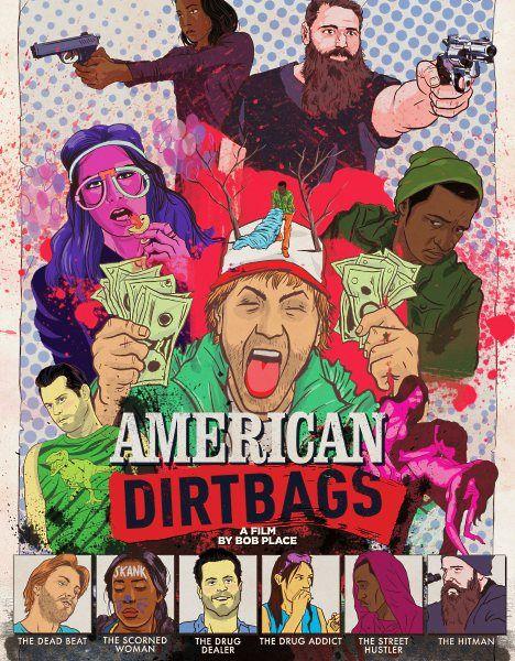 Американские отморозки / American Dirtbags (2015/WEB-DLRip)  Эта трагикомичная картина рассказывает историю шести людей. Они совершенно разные, однако их всех что-то связывает друг с другом. Каждое их решение влияет на последующую череду событий, порой обрекая героев на неприятные последствия. Им придется постараться решить все свои проблемы и не сыграть в ящик…