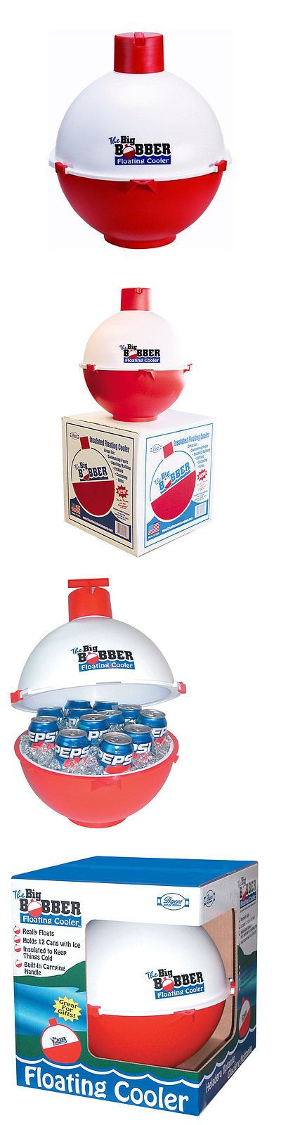 Floats and Rafts 181055: Byers The Big Bobber Floating Cooler Red White Easy To Carry 50001700 New -> BUY IT NOW ONLY: $33.14 on eBay!