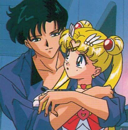 Darian and sailor moon/queen serenity/serena