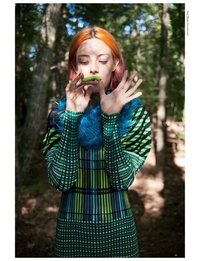 Chloe Norgaard / Oyster Magazine Fall/Winter 2013 'Chloe and Friends'by Michael Hauptman