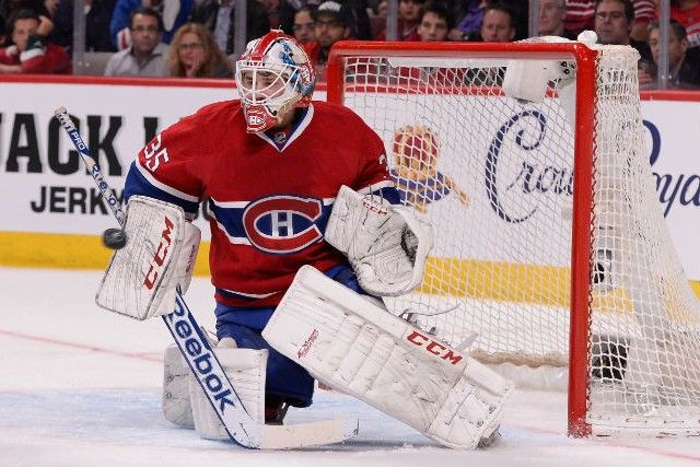 Montréal goalie Dustin Tokarski