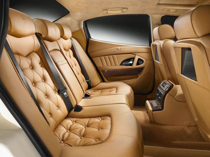 luxury cars interior. interior of maserati luxury cars n