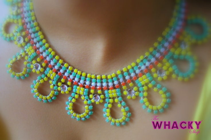 The Butterfly; (neon yellow)   Price - Rs 1000  (The Whacky Shop)