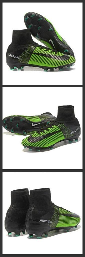 Nuove Scarpa da calcio Nike Mercurial Superfly V FG Verde Nero La scarpa da calcio per terreni duri Nike Mercurial Superfly V - assicura la massima stabilità e un tocco di palla eccezionale. I tacchetti sono espressamente progettati per una trazione superiore sui campi in erba corta.