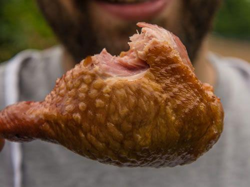 Smoked Turkey Leg, Disney style http://amazingribs.com/recipes/chicken_turkey_duck/disney_smoked_turkey_legs.html