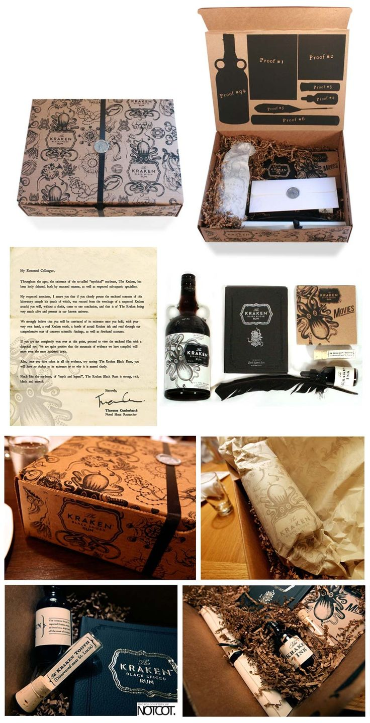 Here you go Gi the Kraken Press Kit.   Love seeing the entire thing PD