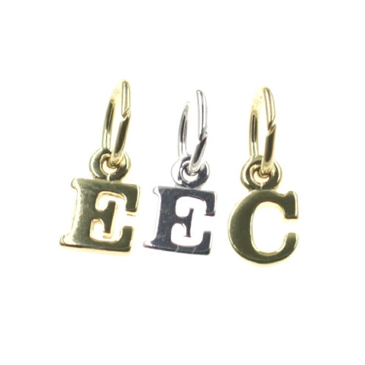Buy our Australian made Initials Charm - chr-1657 online. Explore our range of custom made chain jewellery, rings, pendants, earrings and charms.