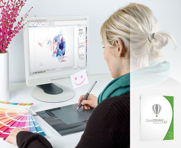 Le pouvoir aux designers et aux artistes : Corel CorelDRAW Graphics Suite X7