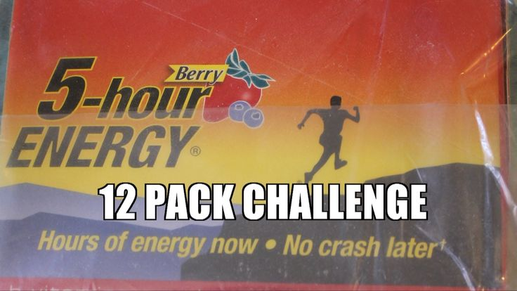 Entire Case of 5 Hour Energy Drinks CHALLENGE MUST SEE *DO NOT TRY AT HO...