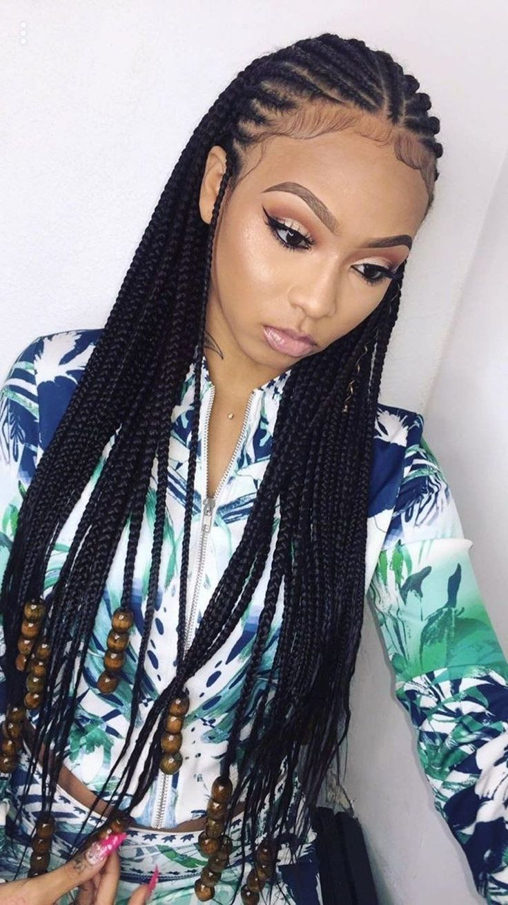 Image result for 11 year old with hair beads   Cool braid ...