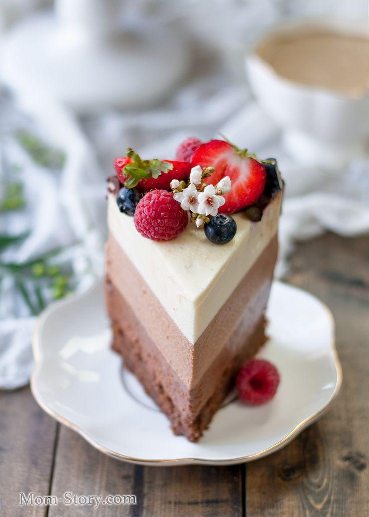 Торт без выпечки на сгущенке фото 11