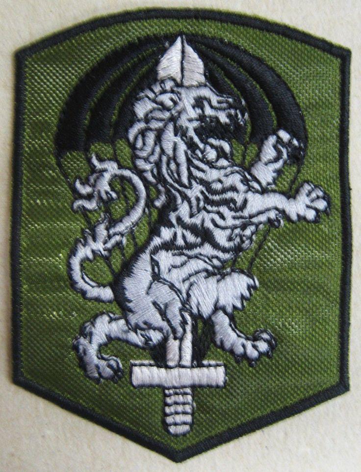 "Toppa/Patch BTR. COMANDO ""LEONI"" - 185° RGT. ART. PARACADUTISTI FOLGORE"