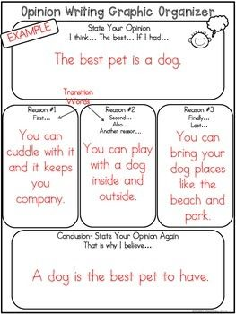 Opinion Writing for beginning writers!  These fun writing prompts will help you introduce Opinion writing to your first and second grade students!