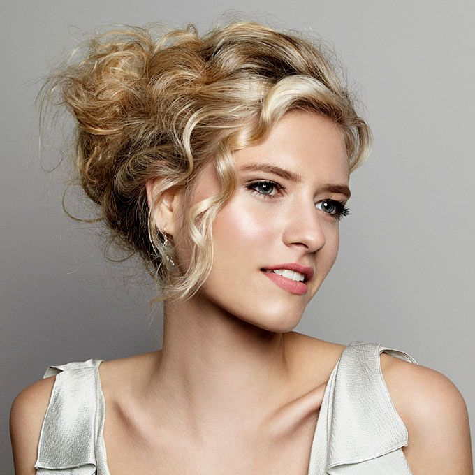mother of the bride hairstyles  google search  long hair