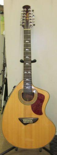 Jay Turser JTA Cra 12S NG Acoustic Electric 12 String Craviola