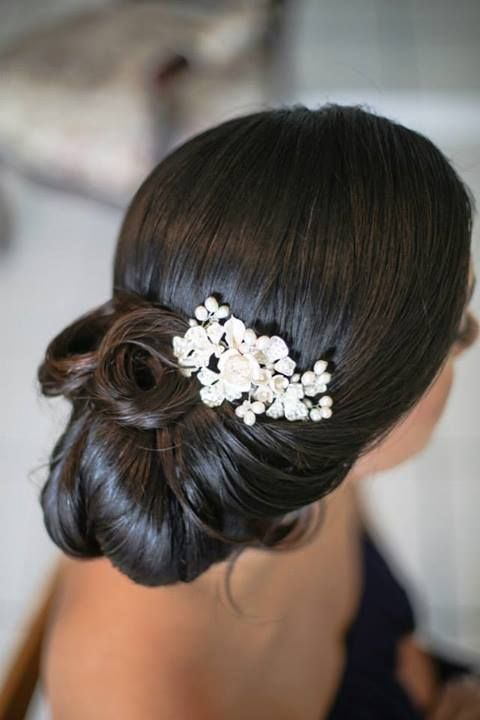 Maid Of Honor Hairstyle With Hairpiece My Wedding