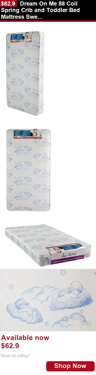 Mattress Pads And Covers: Dream On Me 88 Coil Spring Crib And Toddler Bed Mattress Sweet Dreams 6 BUY IT NOW ONLY: $62.9