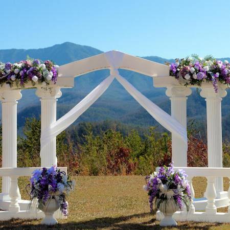 Smoky Mountains Garden Weddings Beautiful Mountain Views And The View Of Douglas Lake Dam
