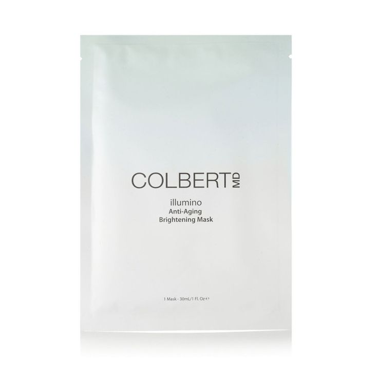 """""""Every once in a while I like to treat myself to a mask by Colbert MD — it's worth the price since the results are as good as a getting a facial."""" – Samantha Andriano, Social Media Manager  Colbert MD Illumino Anti-Aging Brightening Mask, $110, barneys.com.-Wmag"""