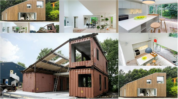 3 Shipping Containers used for Building this House – Architecture Admirers