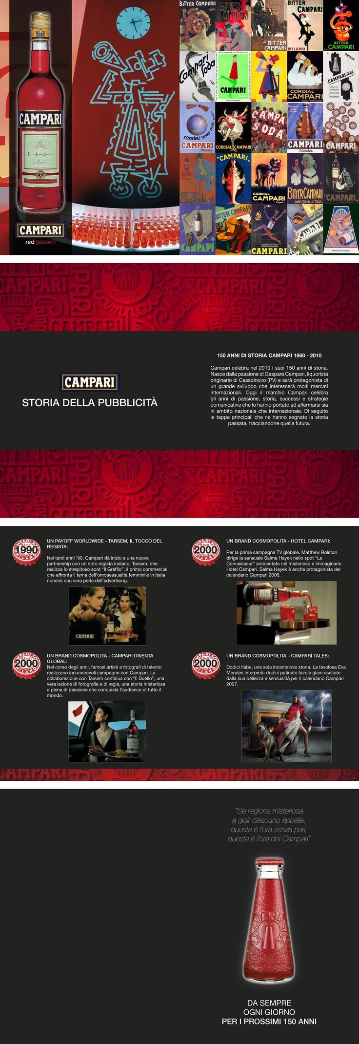 #campari #storiadellapubblicità #brochure #istitutodesignpalladio #giuliaguerra