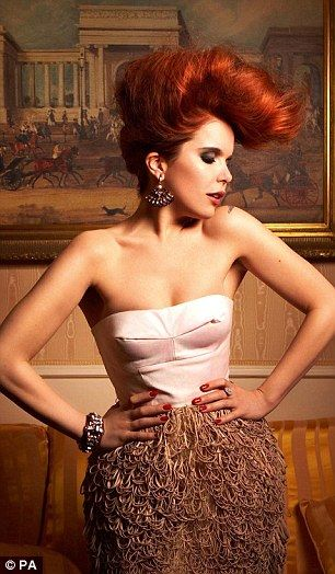 Vintage: Never one to stick to trends, Paloma says her style is 'nostalgia and vintage'