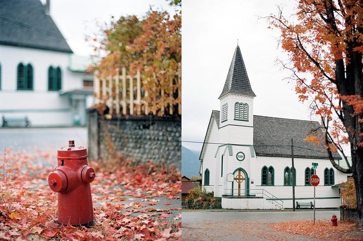 Kaslo church, BC, Canada. Christian Ward Photography.