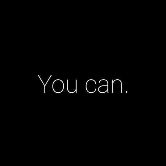 Yes You Can !