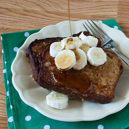 Banana Bread French Toast. why have I never thought of using banana ...