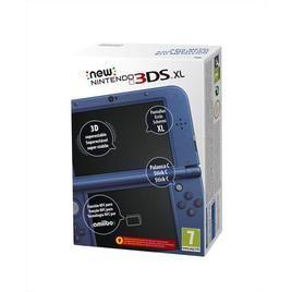 New Nintendo 3DS XL Blu Metallico