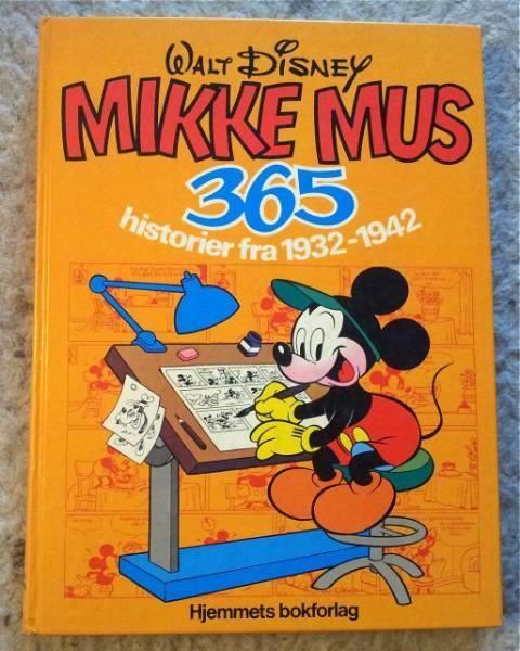 """""""Mikke mus 365 historier fra 1932-1942"""" av Walt Disney"""