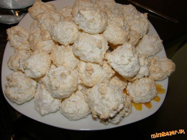 Lahučke sniežikové kokosove pusinky