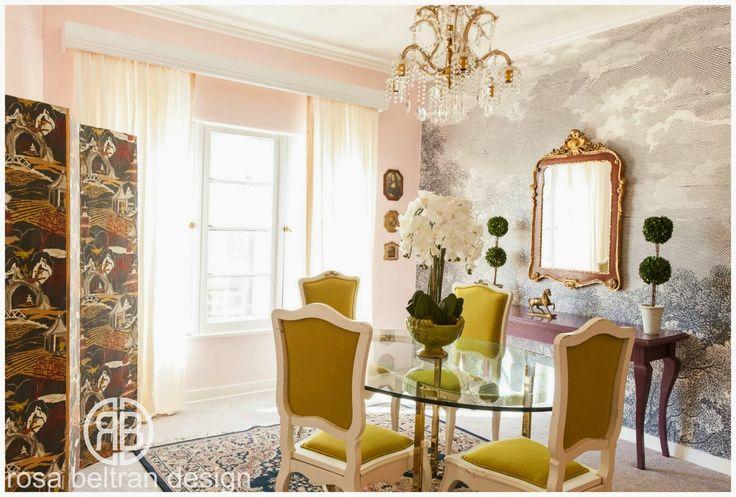 17 best images about rosa beltran design on pinterest for Mural room white house