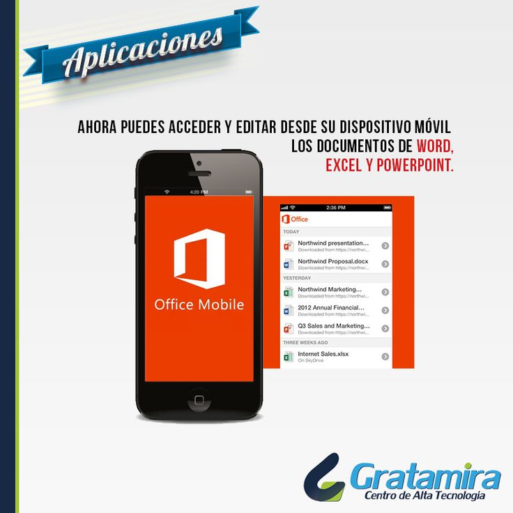 la aplicación oficial de Office se puede bajar sin ningún costo, pero para usarla es necesario ser suscriptor de Office 365 Home Premium o Office 365 ProPlus. Descargala aquí: https://play.google.com/store/apps/details?id=com.microsoft.office.officehub