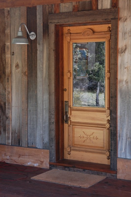 98 best wood doors images on Pinterest | Wood doors, Wood gates and ...