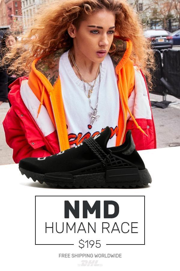 a1687beca Order Human Race Adidas HU Trail NERD Black   PW copy
