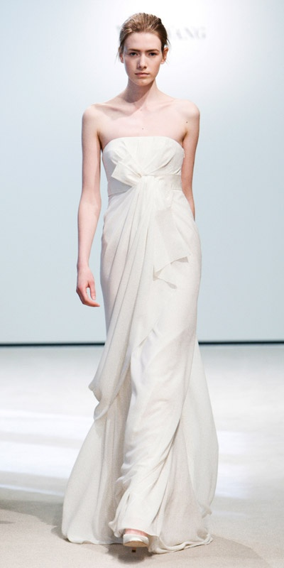 Vera Wang - Simple, clean, flow-y = epic win