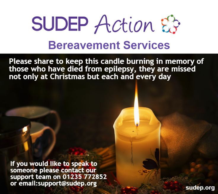 This candle is burning in memory of everyone who has lost their lives to #epilepsy. In the lead up to Christmas, show your support, & that those who have died are still in our thoughts by helping us spread this post far & wide.  Once you've shared please post a comment below the original SUDEP Action post to show where in the world you are keeping the candle burning & a message in memory should you wish.