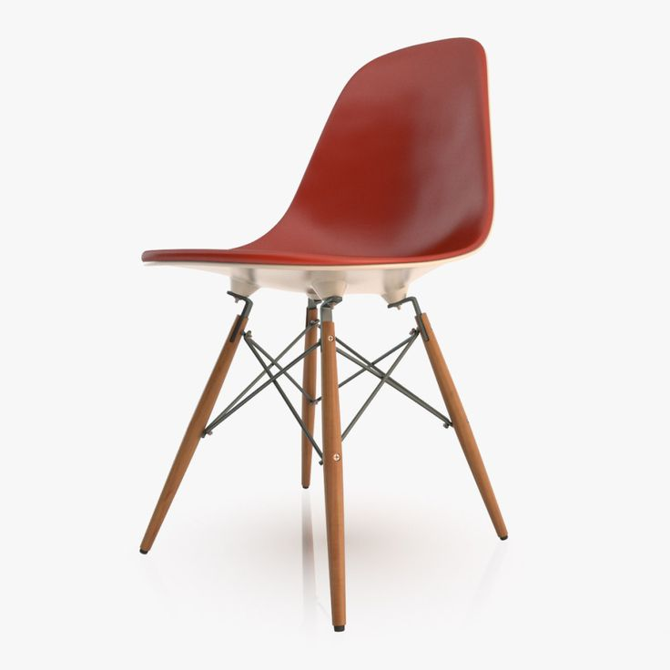 El usuario de Turbosquid maqyko regala este genial modelo 3D ultra detallado de la Silla Eames DSW, diseñada durante la década de 1950 por Charles y Ray Eames.