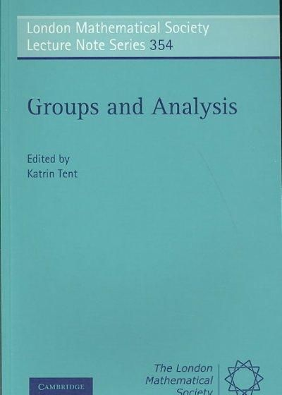 Groups and Analysis: The Legacy of Hermann Weyl