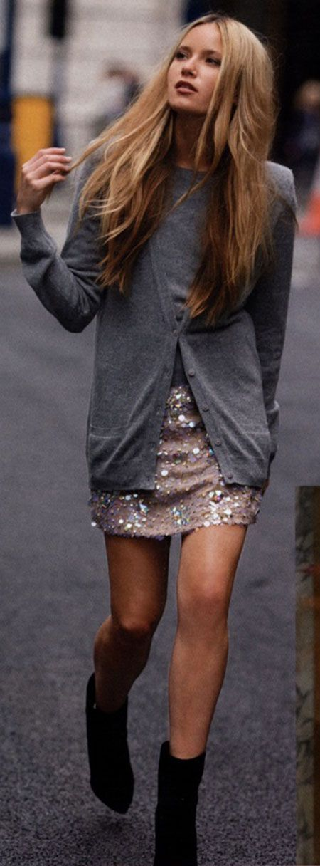 -: Fashion, Sequin Skirt, Style, Skirts, Outfit, Sequins, Sparkle, Fall Winter