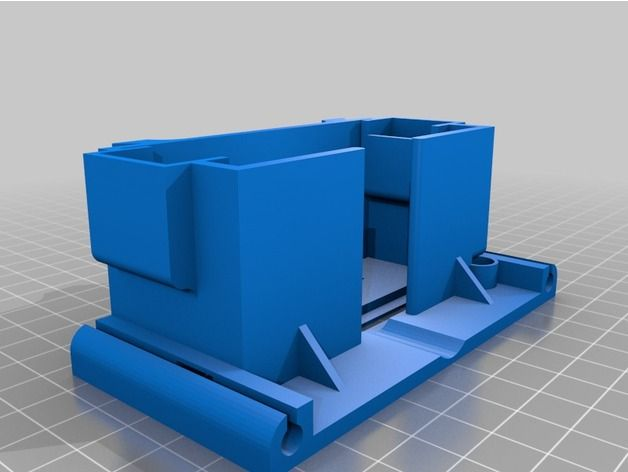 Table saw for Dremel 4000 (with drill bracket Fixed) by oikos - Thingiverse