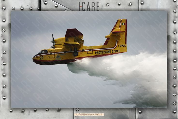 Water Bomber Canadair CL-415. Codice: PS-Canadair-001