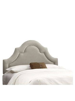 45% OFF Skyline High-Arch Border Headboard (Light Grey)