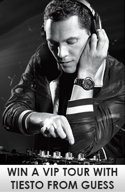 Win a VIP Tour with Tiesto from Guess    Enter Here: http://free4him.ca/sweepstakes/win-a-vip-tour-from-guess/